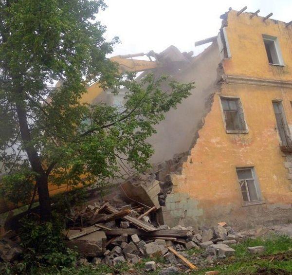 В Новосибирске начали сносить «Расточку»