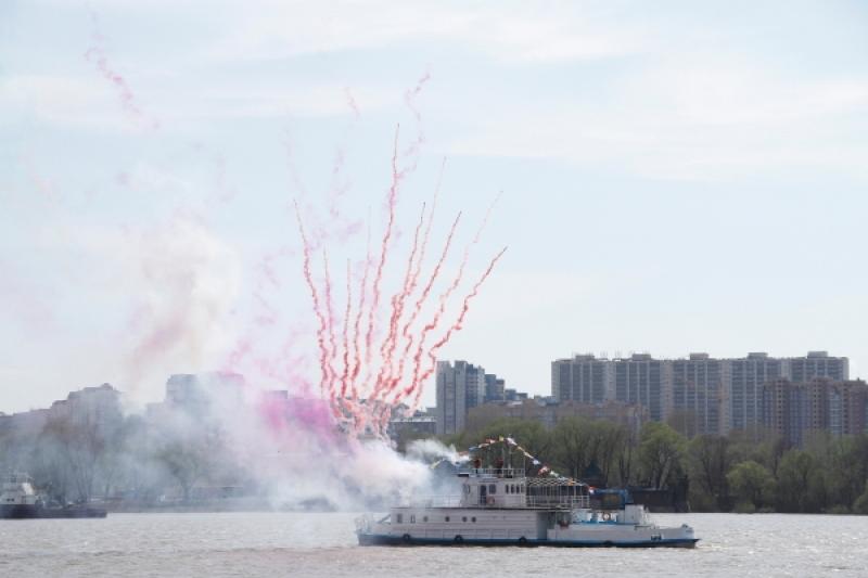 Первый общегородской праздник открытия навигации в Новосибирске (2016)