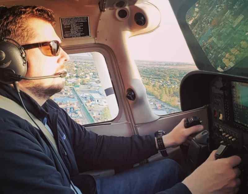 Ведущий НТВ научился летать