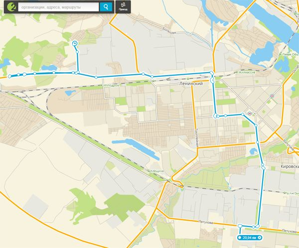 10-ю маршрутку отправят в Акатуйский жилмассив Новосибирска (схема)