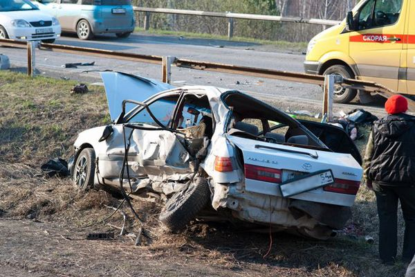 Экс-глава ГИБДД Кузбасса заявил, что снес легковушку с трассы, не нарушая скоростной режим