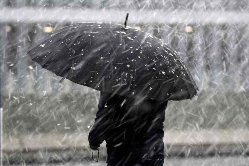 Шторм «Барбара» принесет мокрый снег в Новосибирск