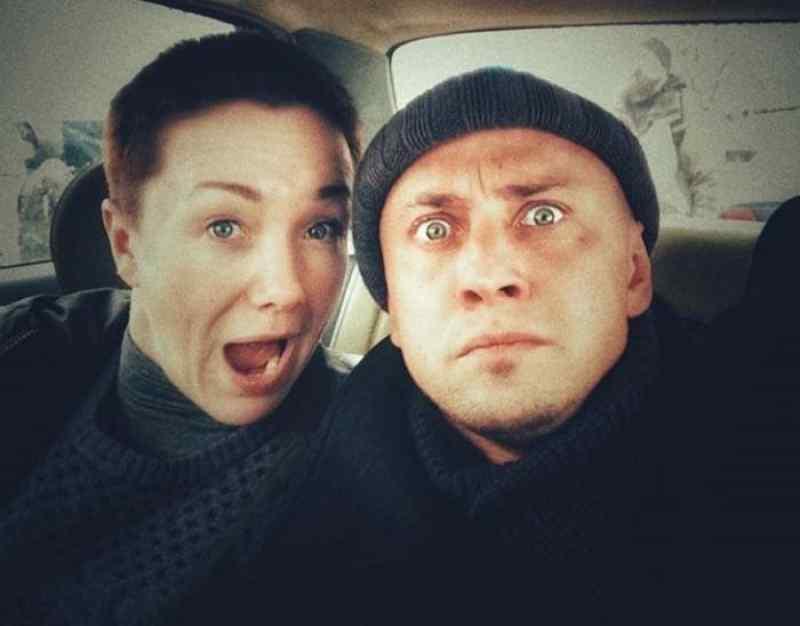Дарья Мороз и Павел Прилучный