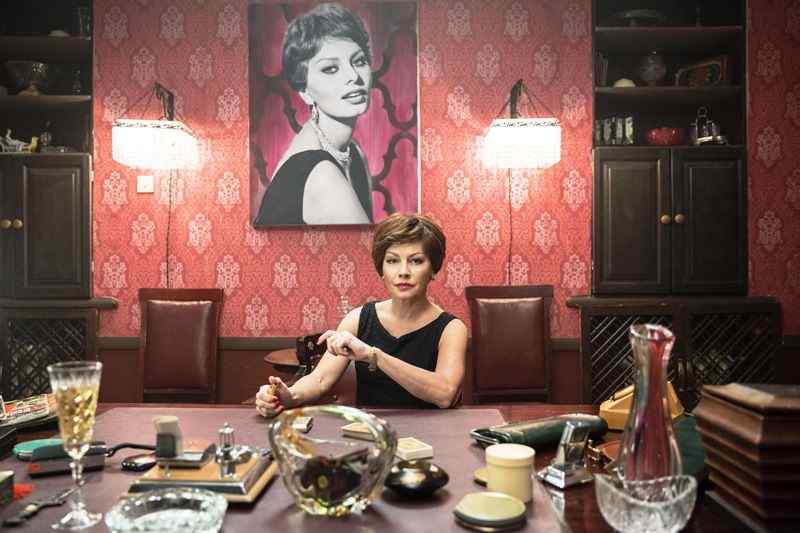 Алена Бабенко при подборе своего образа ориентировалась на Софи Лорен