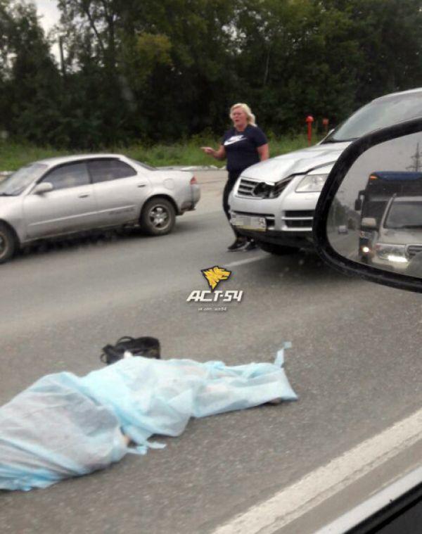 Новосибирская пенсионерка погибла под колесами Volkswagen Touareg