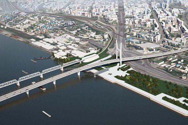 В Новосибирске определили трех потенциальных инвесторов платного моста через Обь
