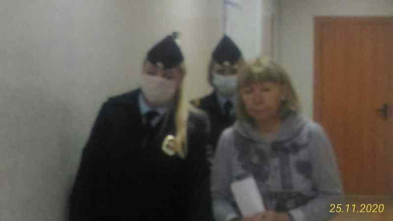 Арест сотрудницы новосибирской прокуратуры показали на видео