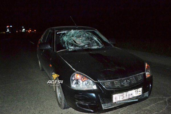 Водитель «Приоры» задавил молодого кемеровчанина в поселке под Новосибирском