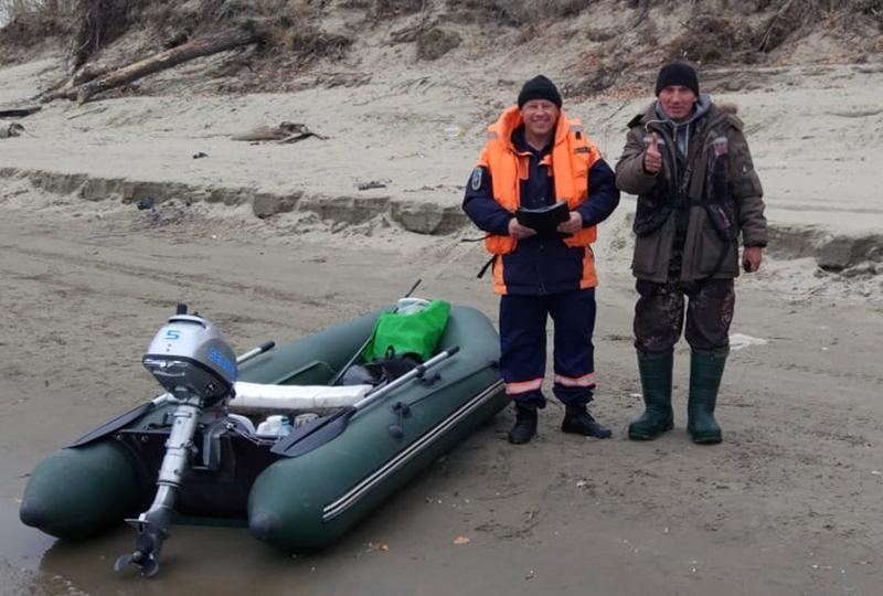 Спасатели МАСС вернули Робинзона Крузо с необитаемого острова