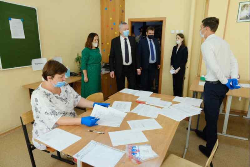Сдача ЕГЭ в гимназии «Горностай»