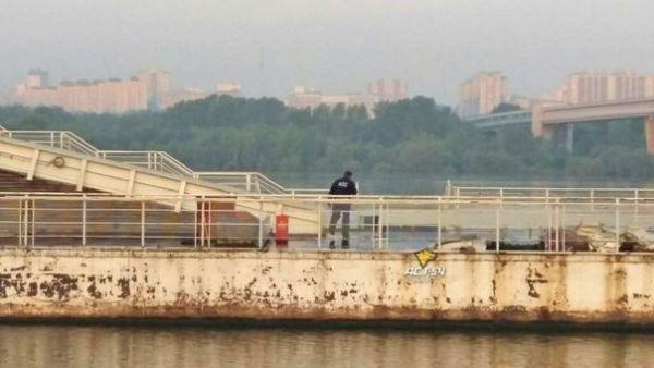 Скрываясь от полицейской погони, мужчина прыгнул в Обь в Новосибирске