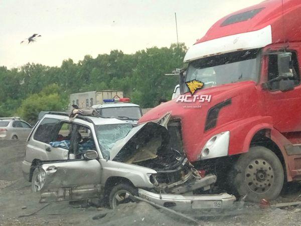 Двое погибли в результате лобового столкновения на Гусинобродском шоссе