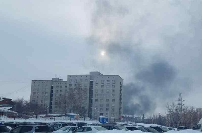 Режим черного неба объявлен в Новосибирске до конца месяца
