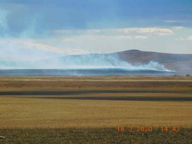 Лесные пожары вернулись в Сибирь