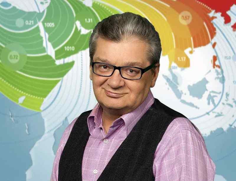 Ведущего прогноза погоды на НТВ Александра Беляева любили все