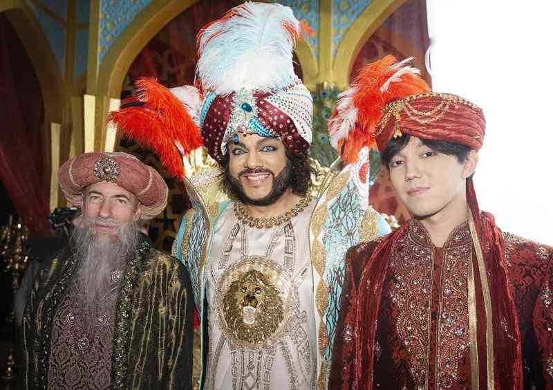 В Новый год Киркоров станет Султаном, Билан - Трубадуром, а Шуфутинский - Синдбадом-мореходом