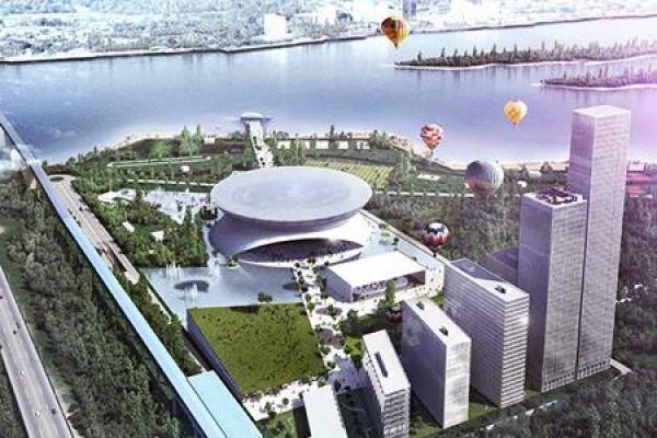 Строительство ледового дворца в Новосибирске обойдется в 3,5 млрд рублей
