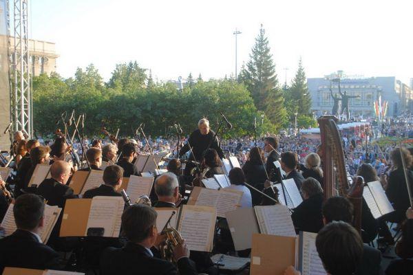 «Ленинградская» симфония Шостаковича прозвучит с площадки перед Оперным 22 июня