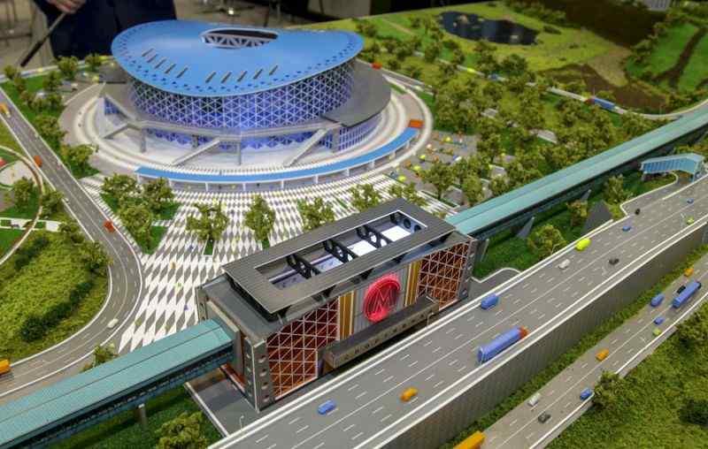 Конкурс на строительство второго этапа Ледовой арены прошел с третьего раза