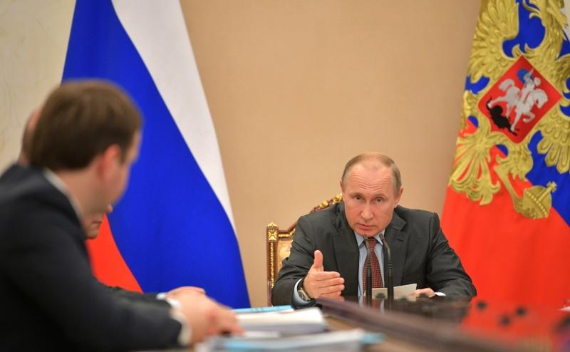 Путин едет в Сибирь, официально — на совещание по добыче угля