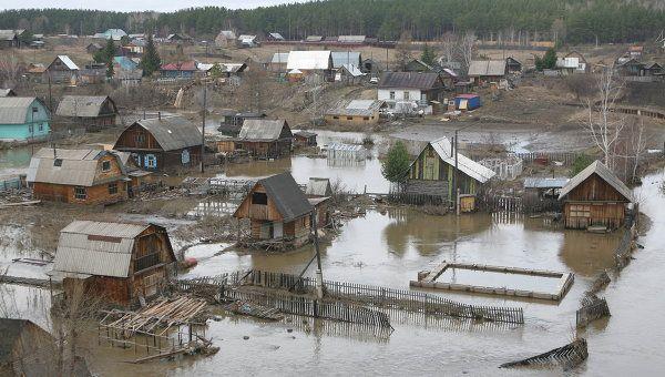 В Новосибирском регионе началась вторая волна паводка