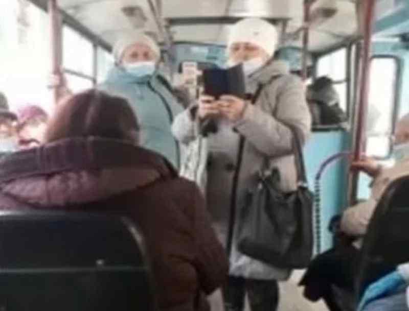 Конфликт в троллейбусе разгорелся из-за пассажирки без маски