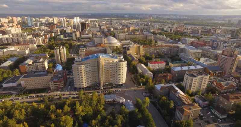 Новосибирск стал пятым городом России по числу небоскребов