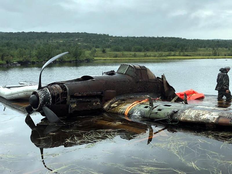 В Новосибирске отреставрируют самолет, более полувека пролежавший на дне озера