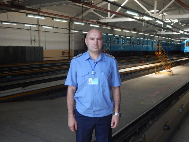 Машинист-инструктор Новосибирского метрополитена Павел Максимук: главное в профессии – стрессоустойчивость