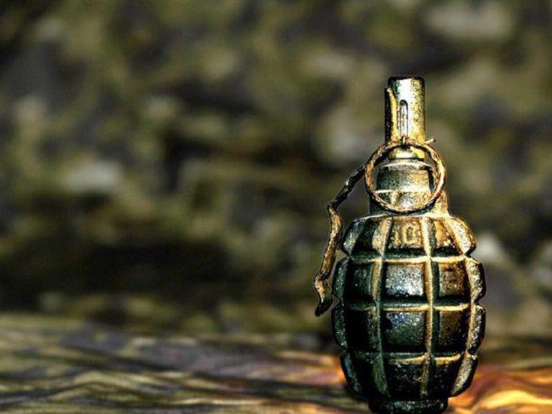 Новосибирские полицейские задержали мужчину с гранатой