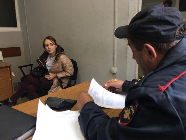 Заявителя новосибирского пикета в поддержку Навального задержала полиция