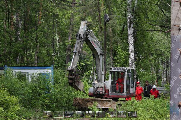 Недострой в почти 800 квадратных метров снесут в Заельцовском парке до конца июня