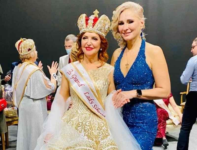 Сибирячка в 63 года выиграла конкурс красоты и стала императрицей