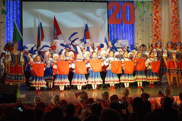20-летие «Зореньки» отметили концертом в «Пашинском»