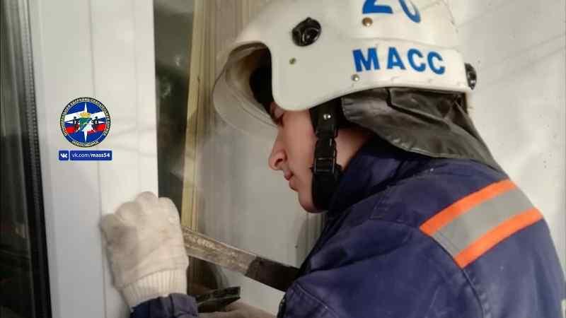 Мужчину с петлей спасли в Новосибирске