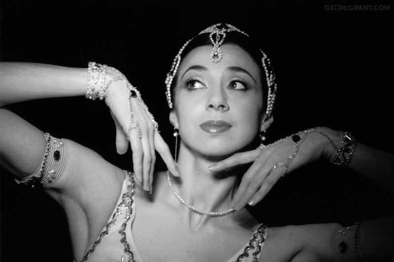 НОВАТ уволил грузинскую балерину Нино Ананиашвили