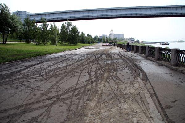 Новосибирскую набережную предполагается реанимировать за миллиард рублей