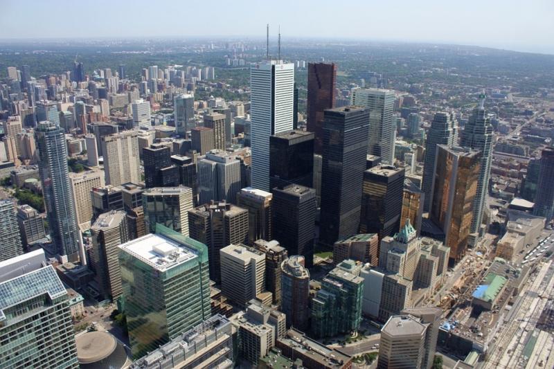Торонто — столица небоскребов