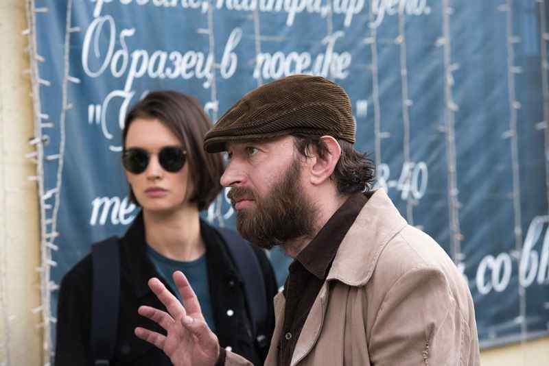 Паулина Андреева и Константин Хабенский