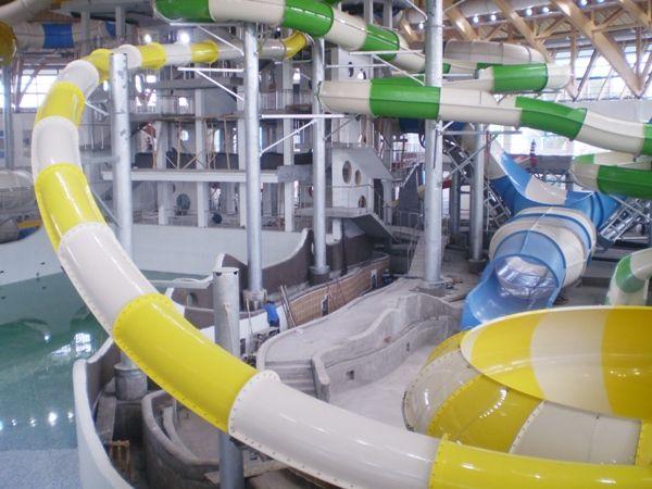 Новосибирский аквапарк планируют открыть в августе