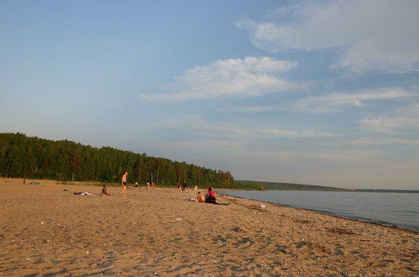 В Новосибирске открылся первый официальный пляж