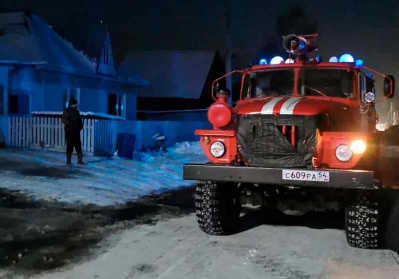 Двое погибли от отравления дымом в Новосибирской области