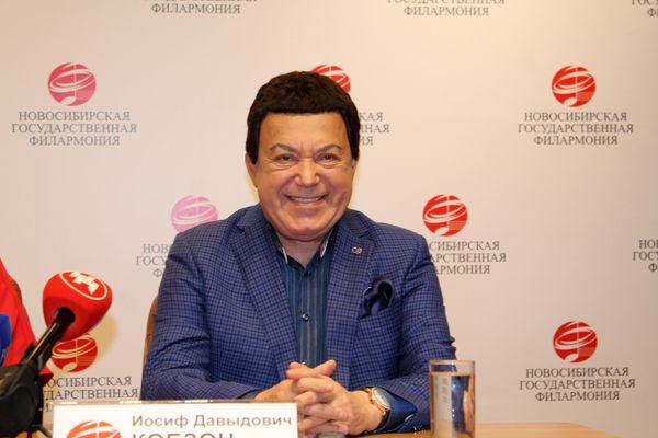 Кобзон рассказал новосибирцам про Украину, Евровидение и дуган в столице Сибири