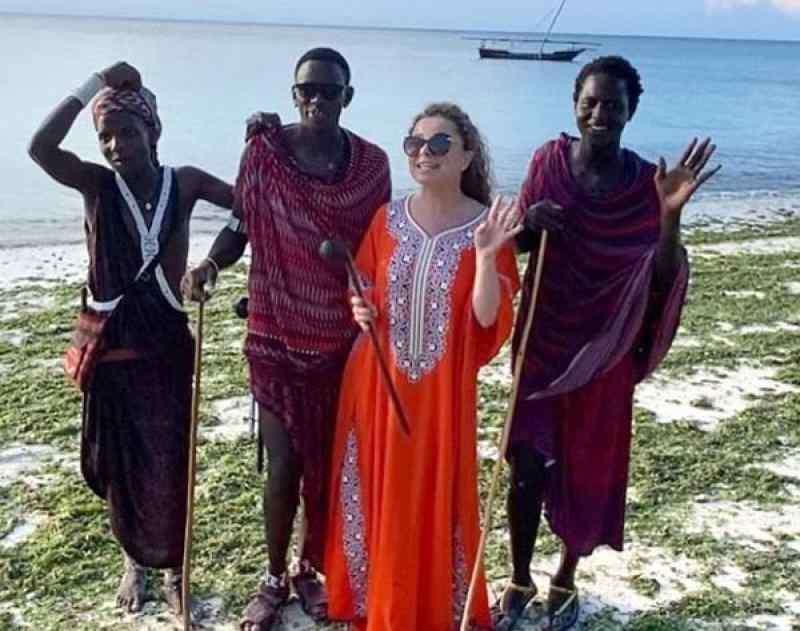 Наташа Королева в Танзании