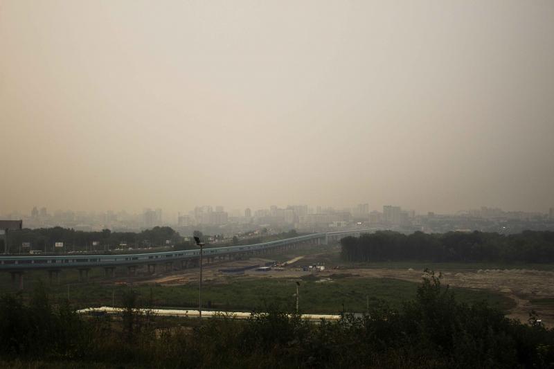 Июльский смог от лесных пожаров на востоке Сибири накрыл Новосибирск на целую неделю