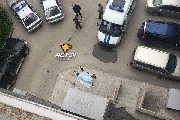 Женщина разбилась, выпав с 15 этажа новосибирского бизнес-центра