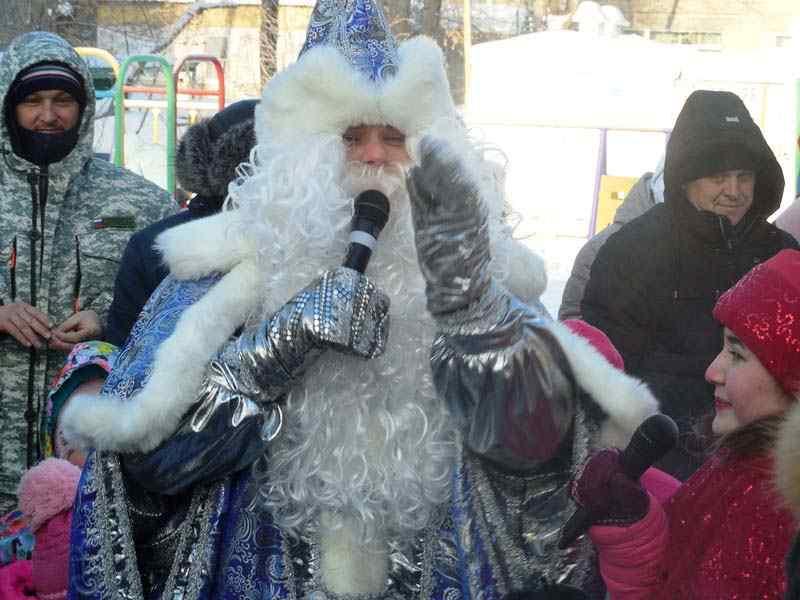 Накануне Рождества в Калининском районе