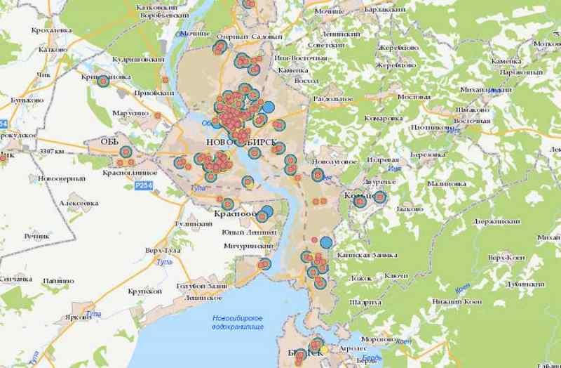 Пройти тест на коронавирус в Новосибирской области: цены, адреса, карта