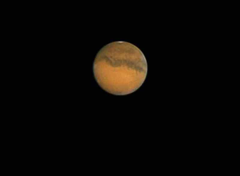 Марс атакует: новосибирец сделал уникальное фото красной планеты