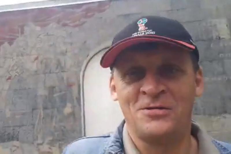 Герой видео новосибирского блогера Тимура Ханова